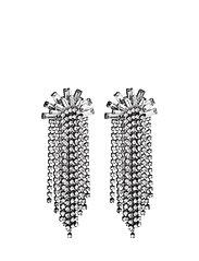 Waterfall Earrings - GUN METAL