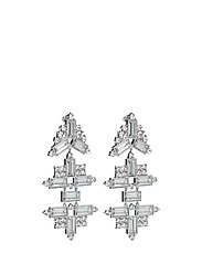 Lustre Earrings - SILVER