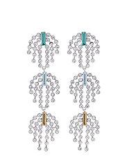 Deco Earrings - SILVER