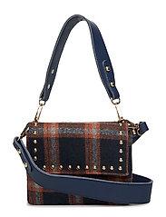 Mellow Studded Bag - NAVY / TAN