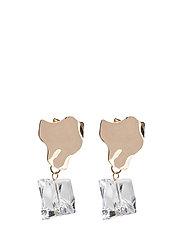 Rock Earrings - GOLD