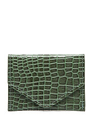 WALLET CROCO - JUNGLE GREEN