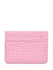 CARD HOLDER CROCO - PINK