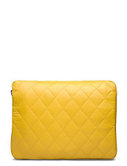 "COMPUTER SLEEVE 13"" QUILTED TRAWL - YELLOW"