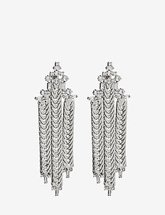 Skylar Earrings - hängande - silver