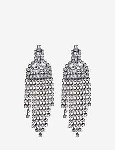 Zoetry Earrings - hängande - gun metal