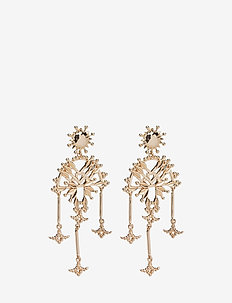 Soleil Earrings - hängande - gold