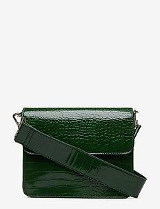CAYMAN SHINY STRAP BAG - na ramię - green