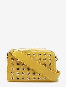 LUSTER STUDDED CROSSBODY - CURRY