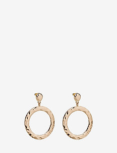 ORBIT EARRINGS - hängande - gold