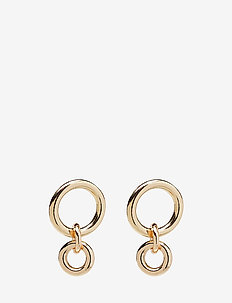 ACER EARRINGS - hängande - gold