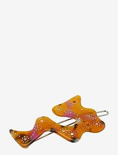 LEAENA - hair pins - yellow