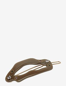 Corona Hair Clip - ARMY GREEN