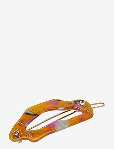 Corona Hair Clip - YELLOW