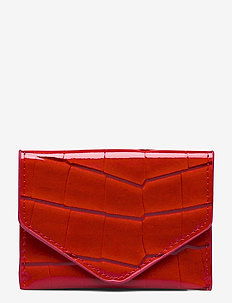 WALLET CROCO - lompakot - red