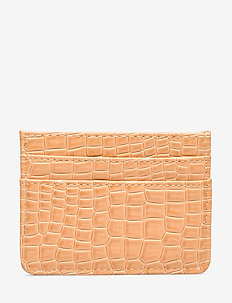 CARD HOLDER CROCO - BEIGE