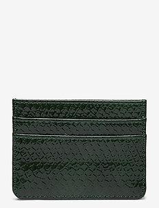CARD HOLDER BOA - kortholdere - dark green