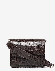 CAYMAN POCKET - schoudertassen - dark brown