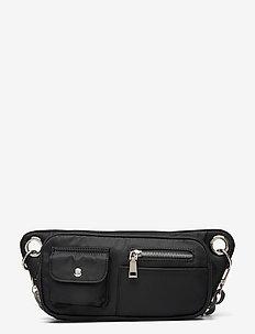 BRILLAY NYLON - belt bags - jet black