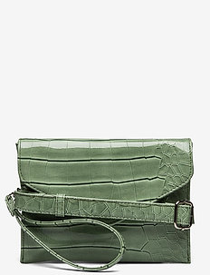 EVOLVE CROCO - clutches - dusty green