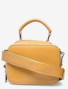 BLAZE GLOSSY - handväskor - mustard