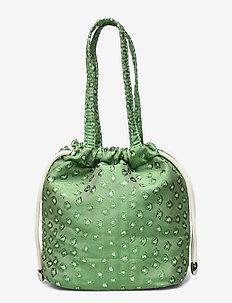 POUCH ALGAE - bucket bags - green
