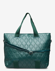COAST QUILTED SEA - weekend bags - green