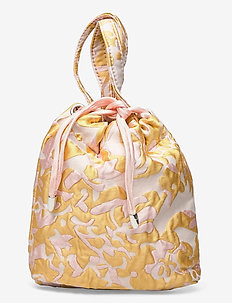 POUCH SAVILLE - bucket-laukut - sunkissed yellow