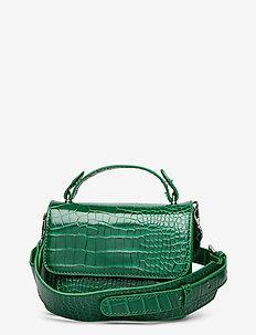 RENEI CROCO - håndtasker - pine green