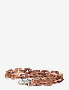 CHUNKY CHAIN HANDLE - axelremmar - brownish