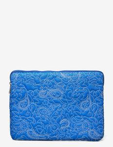 COMPUTER SLEEVE PAISLEY 13'' - väskor - victoria blue