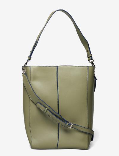 CASSET SOFT - shopper-laukut - moss green