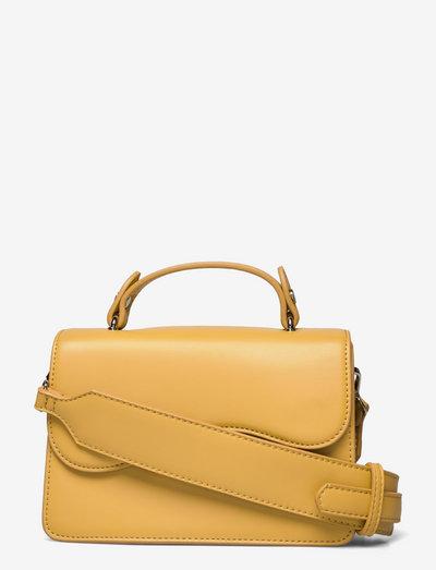 CRANE SOFT - crossbody bags - olivenite yellow