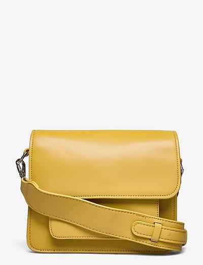 CAYMAN POCKET SOFT - crossbody bags - olivenite yellow