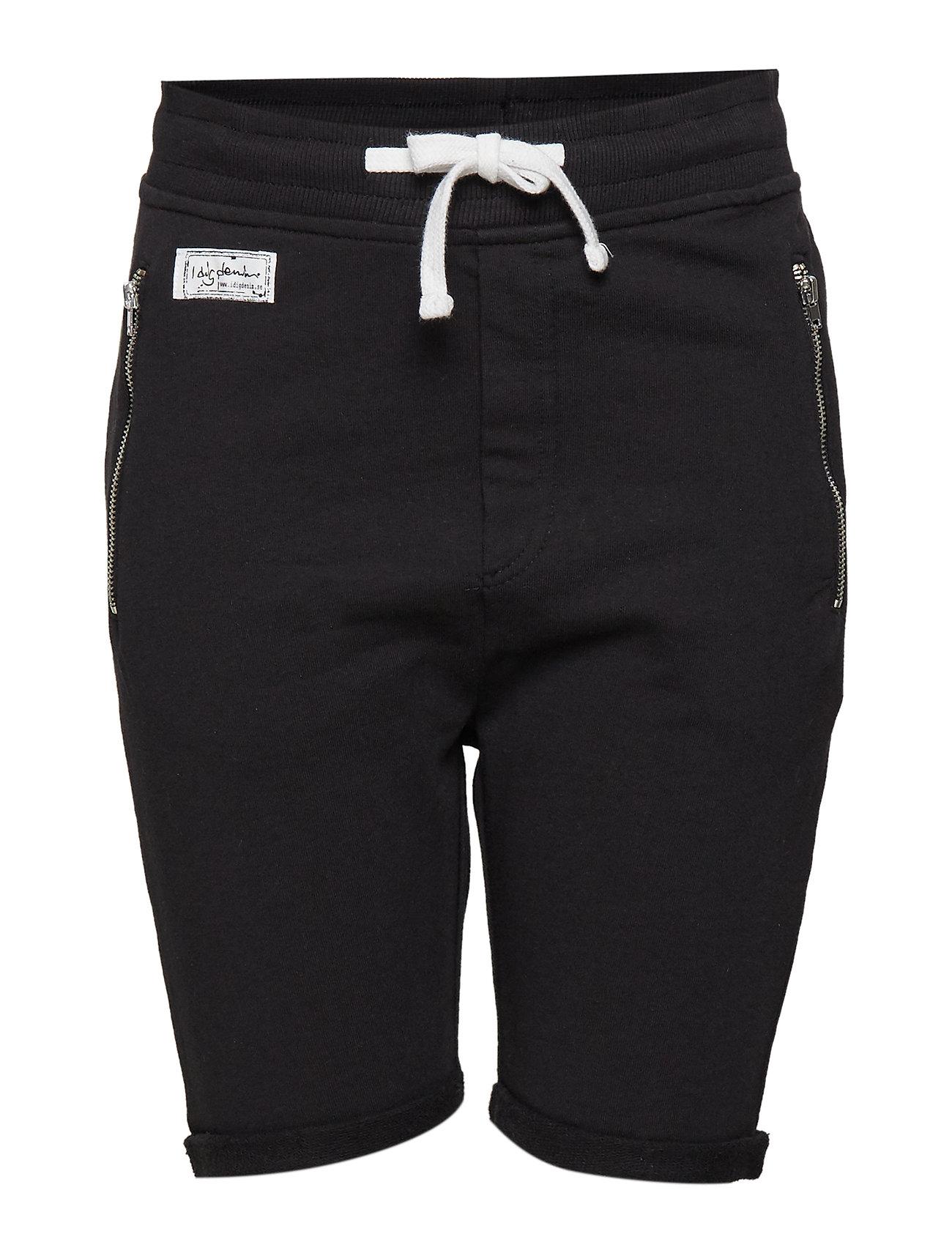 I dig denim Jean shorts - BLACK