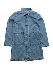 Liana denim coat - DENIM BLUE