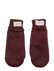 Morris gloves - BURGUNDY