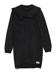 Lu Dress - BLACK WASHED