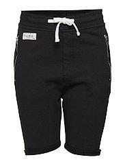 Jean shorts - BLACK