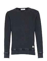 Jean sweater - BLACK