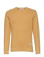 Jean sweater - MUSTARD