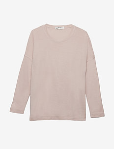 Linna LS - long-sleeved t-shirts - pink