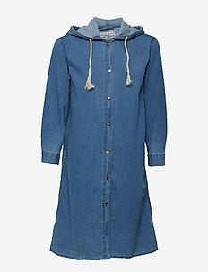 Franny denim coat - BLUE