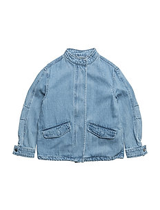 Meg Jacket - LIGHT BLUE DENIM
