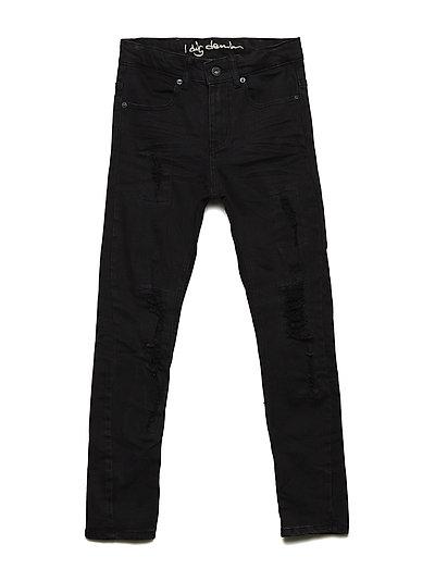 Brent jeans - BLACK WORN
