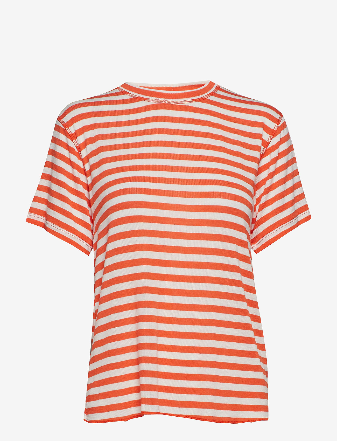 IBEN - Victor Tee - striped t-shirts - flame