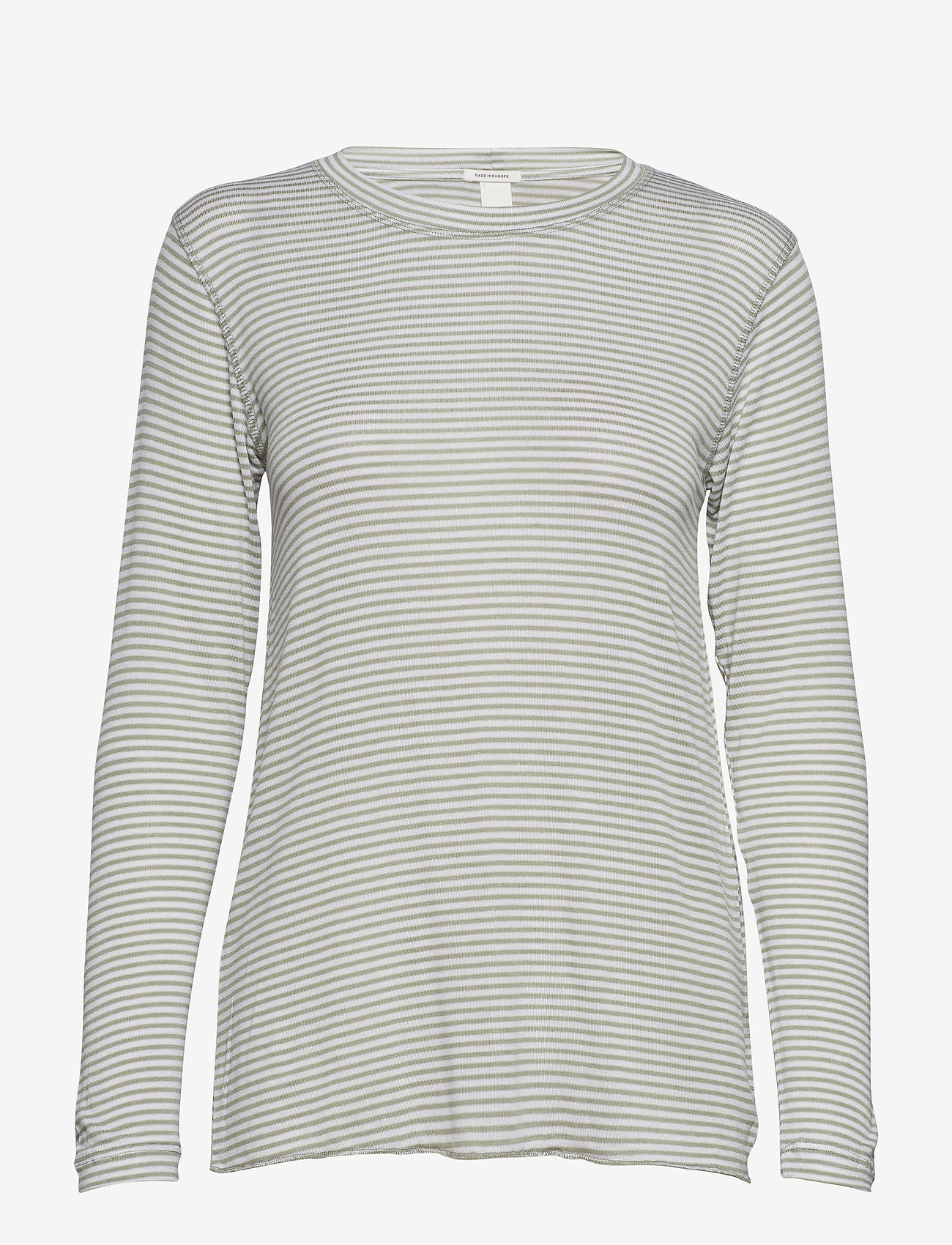 IBEN - Victor LS - long-sleeved tops - khaki