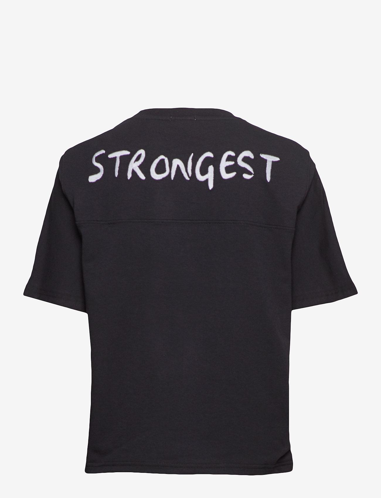 IBEN - Andre Tee STG - t-shirts - black