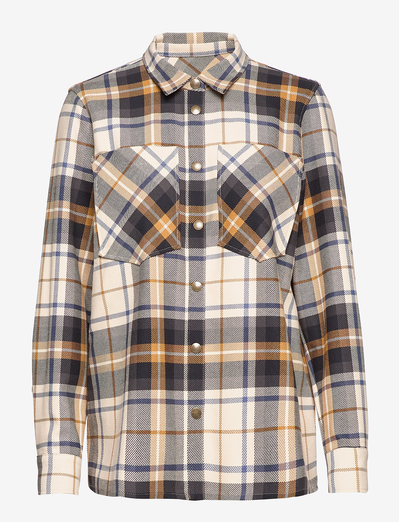 IBEN - Fabian Shirt STG - pitkähihaiset paidat - moonlight