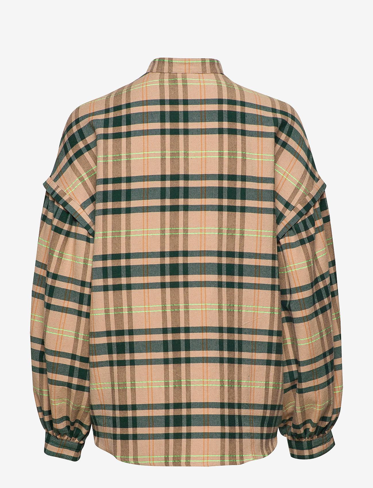 IBEN - Charles Shirt ST - blouses med lange mouwen - moonlight - 1